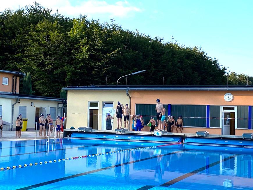 Training im Freibad Ransbach-B.